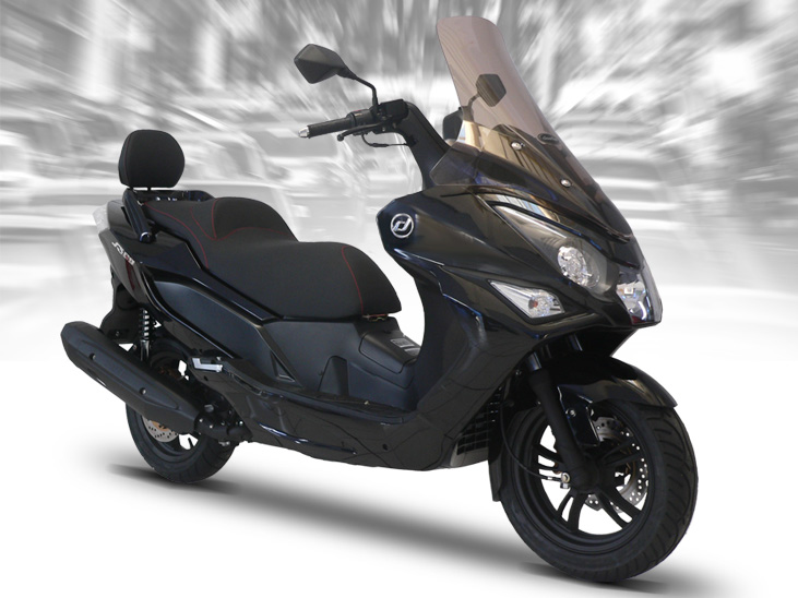 moto scooter daelim 125